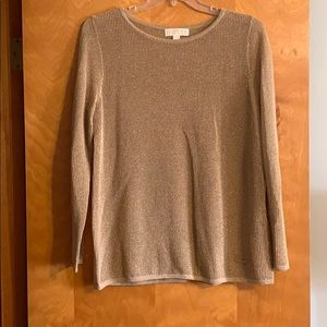 Michael Kors Gold Sweater